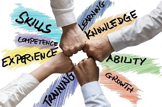 Coaching und Training hilft Teams Wissen aufzubauen und dieses zu teilen. Die Folge ist der Kompetenzaufbau durch erlernte Fähigkeiten. Diese Kompetenz wird manifestiert.